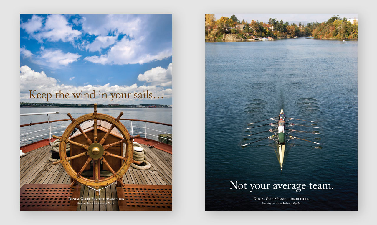 Covers of both member brochures
