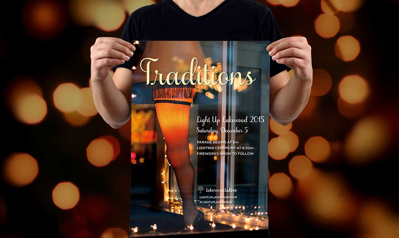 Light Up Lakewood 2015 Poster