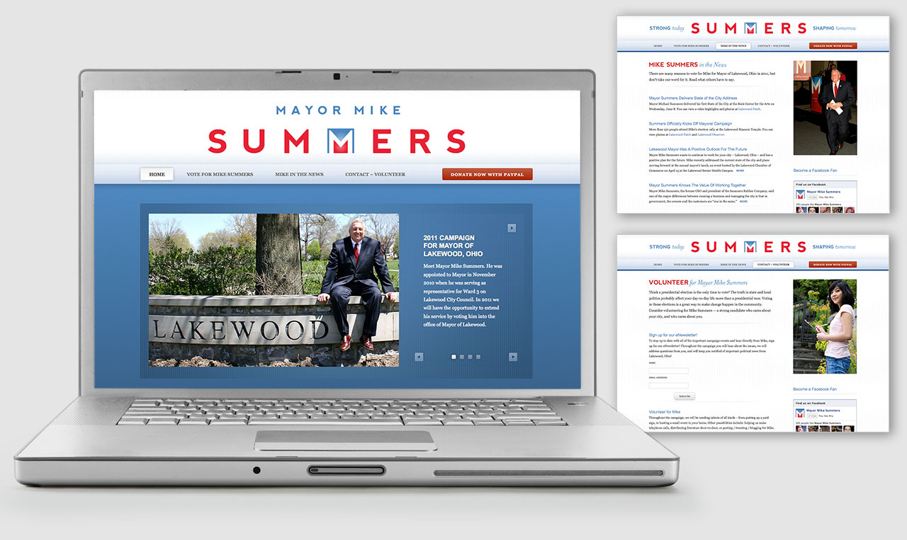 Mike Summers Campaign Website.